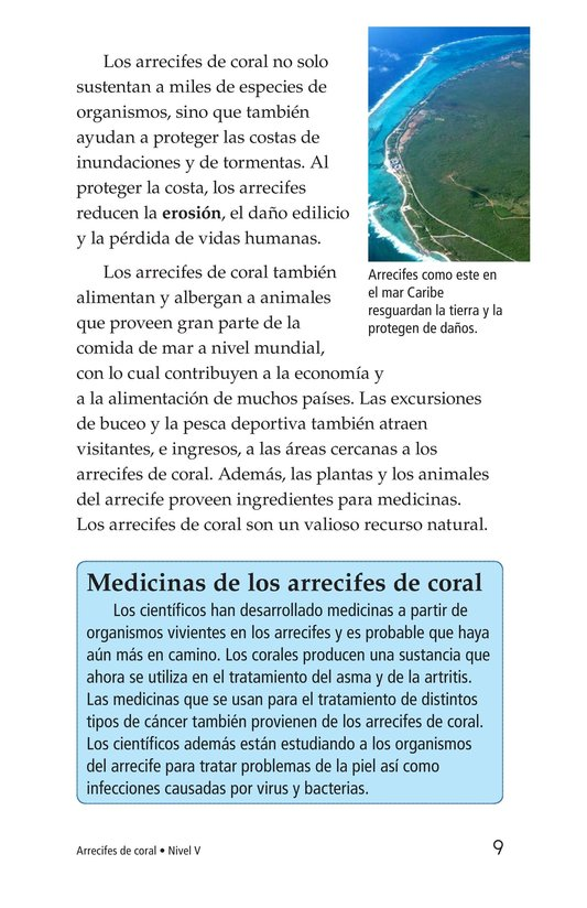 Book Preview For Coral Reefs Page 9