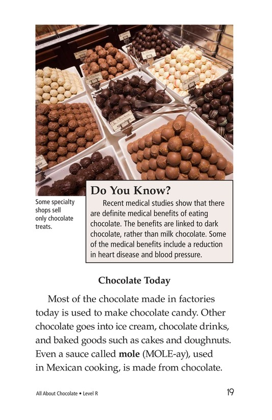 Book Preview For All About Chocolate Page 19