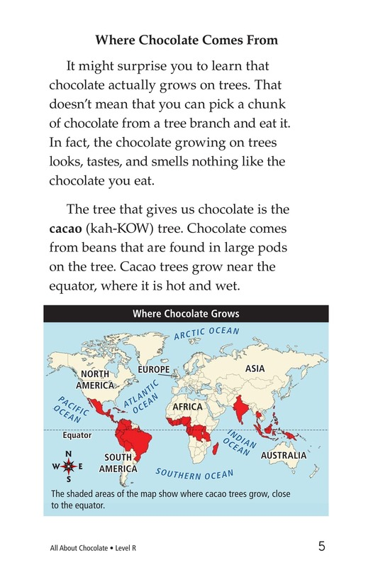 Book Preview For All About Chocolate Page 5