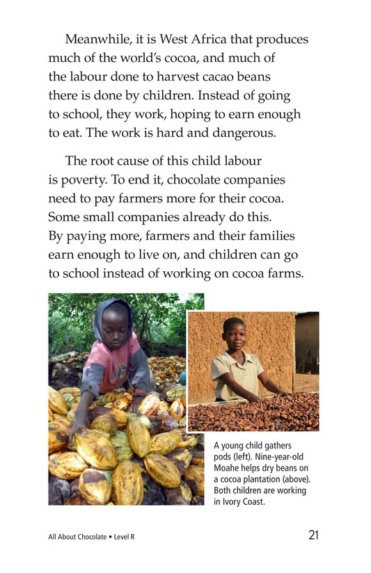 Book Preview For All About Chocolate Page 21
