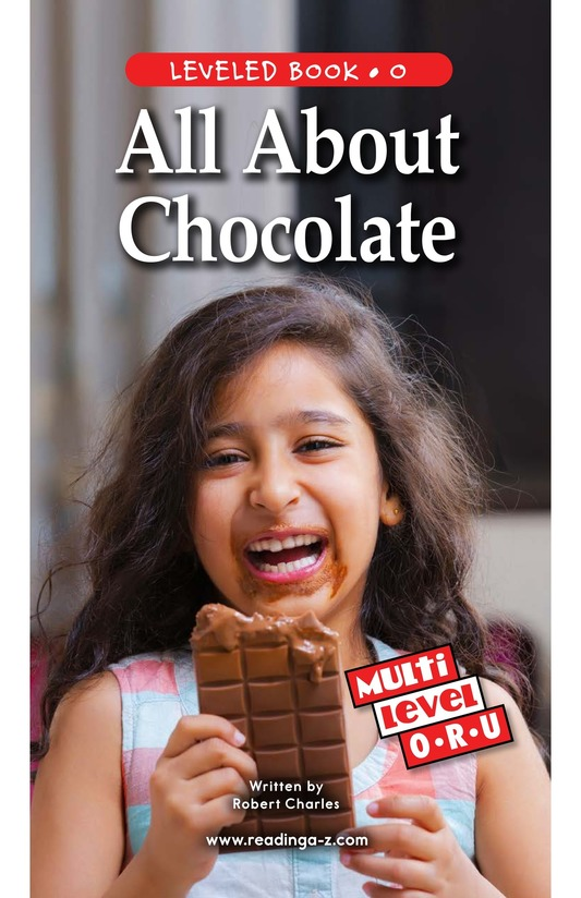 Book Preview For All About Chocolate Page 1