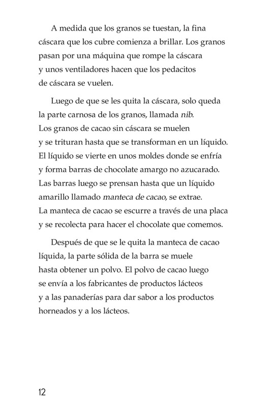 Book Preview For All About Chocolate Page 12