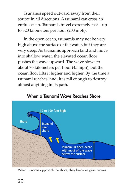 Book Preview For Earthquakes, Volcanoes, and Tsunamis Page 20