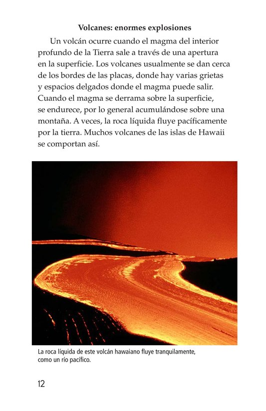 Book Preview For Earthquakes, Volcanoes, and Tsunamis Page 12