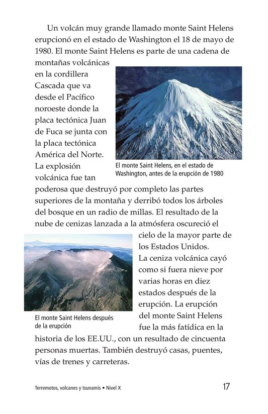 Book Preview For Earthquakes, Volcanoes, and Tsunamis Page 17