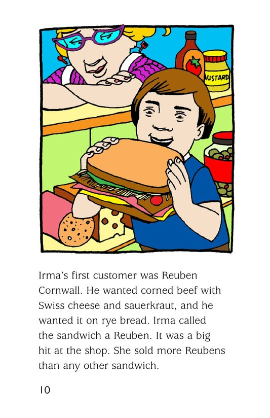 Book Preview For Irma's Sandwich Shop Page 10