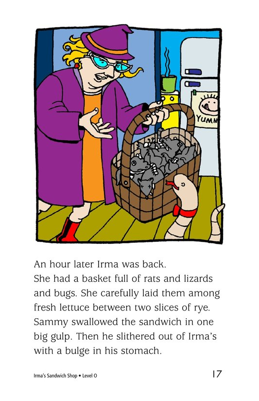 Book Preview For Irma's Sandwich Shop Page 17