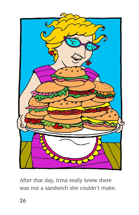 Book Preview For Irma's Sandwich Shop Page 26