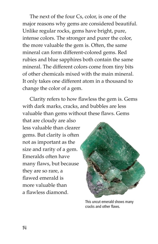Book Preview For Gems: Treasures from the Earth Page 14