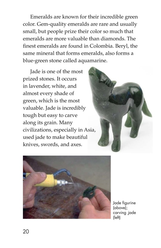 Book Preview For Gems: Treasures from the Earth Page 20