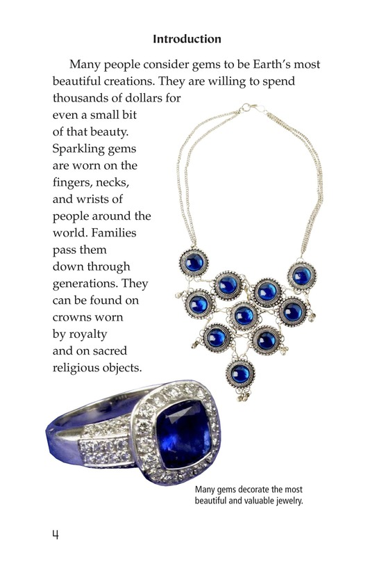 Book Preview For Gems: Treasures from the Earth Page 4