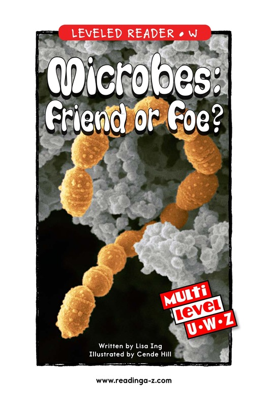 Book Preview For Microbes: Friend or Foe? Page 1