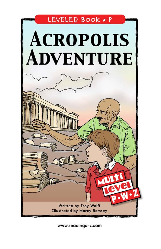 Book Preview For Acropolis Adventure Page 1