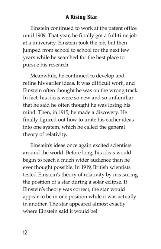 Book Preview For Albert Einstein Page 12