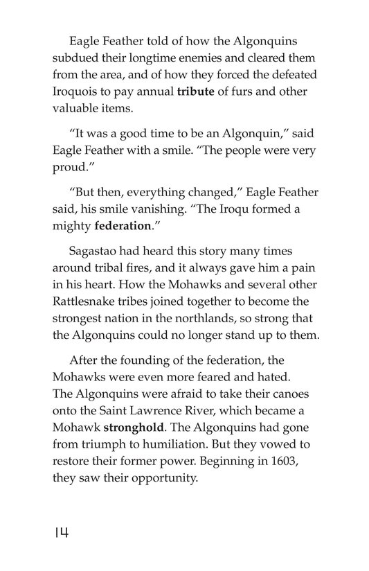 Book Preview For The Algonquins Page 14