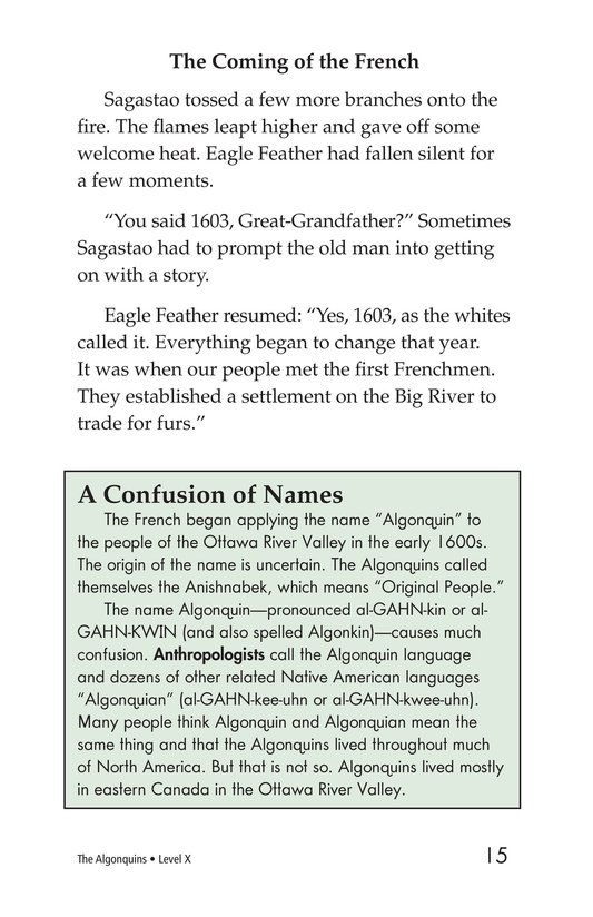Book Preview For The Algonquins Page 15