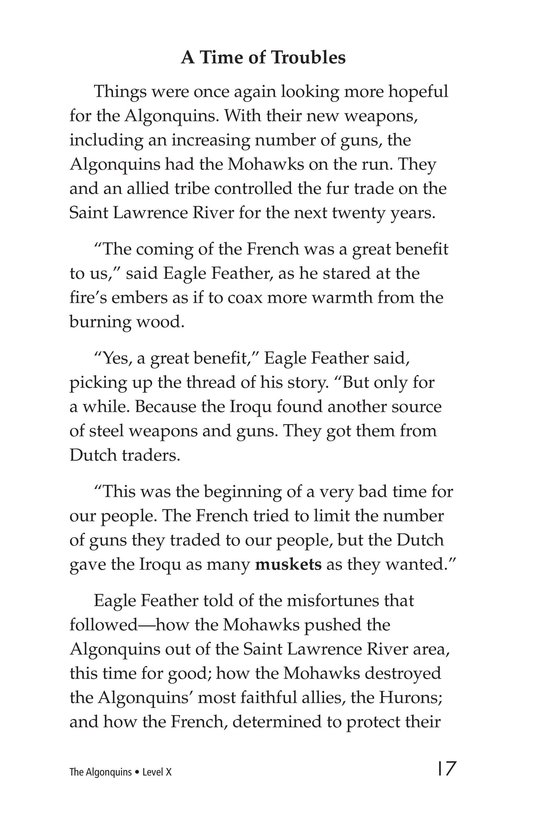 Book Preview For The Algonquins Page 17