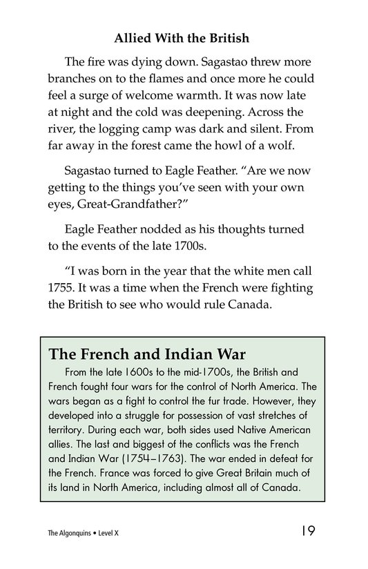 Book Preview For The Algonquins Page 19