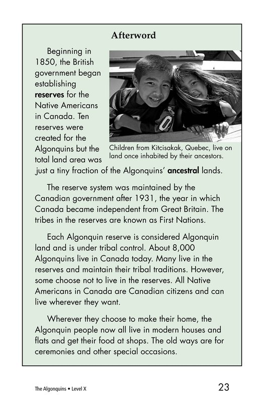 Book Preview For The Algonquins Page 23