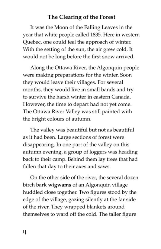 Book Preview For The Algonquins Page 4