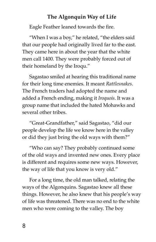 Book Preview For The Algonquins Page 8