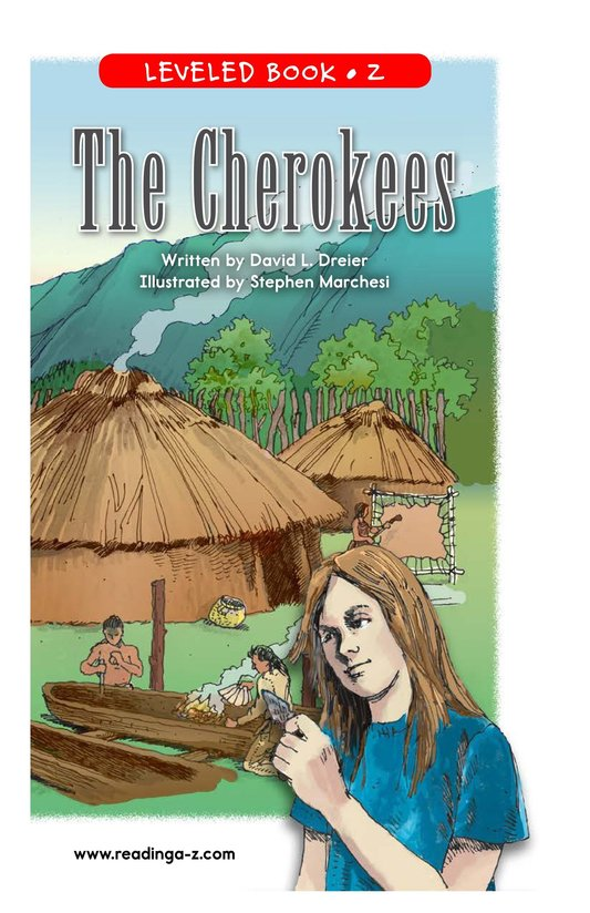 Book Preview For The Cherokees Page 1