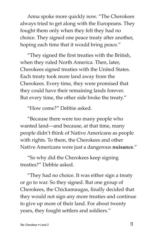 Book Preview For The Cherokees Page 11