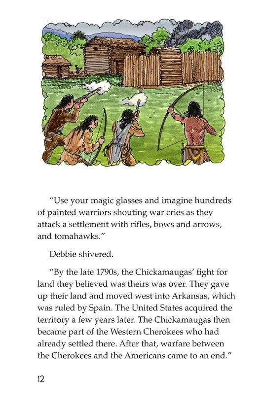 Book Preview For The Cherokees Page 12