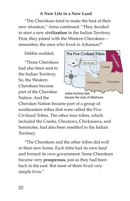 Book Preview For The Cherokees Page 20