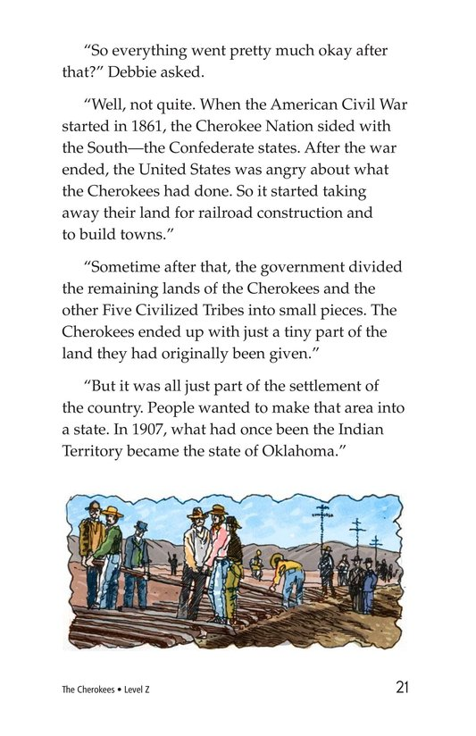 Book Preview For The Cherokees Page 21