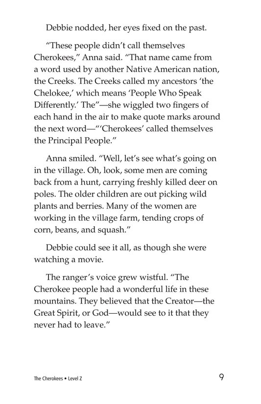 Book Preview For The Cherokees Page 9