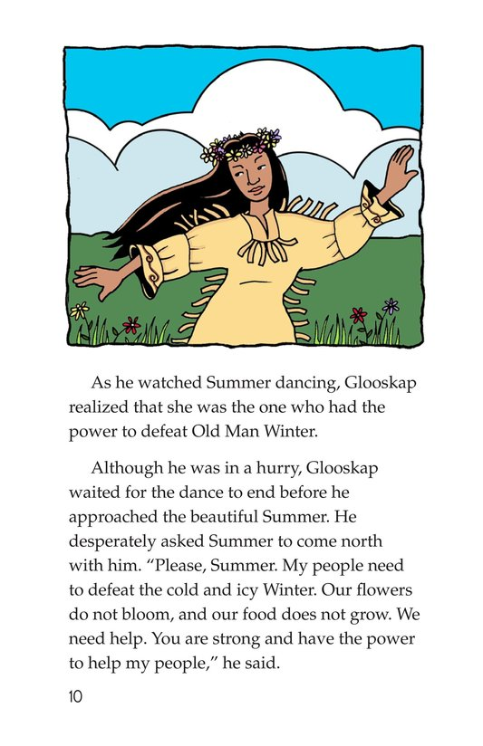 Book Preview For How Glooskap Found Summer Page 10