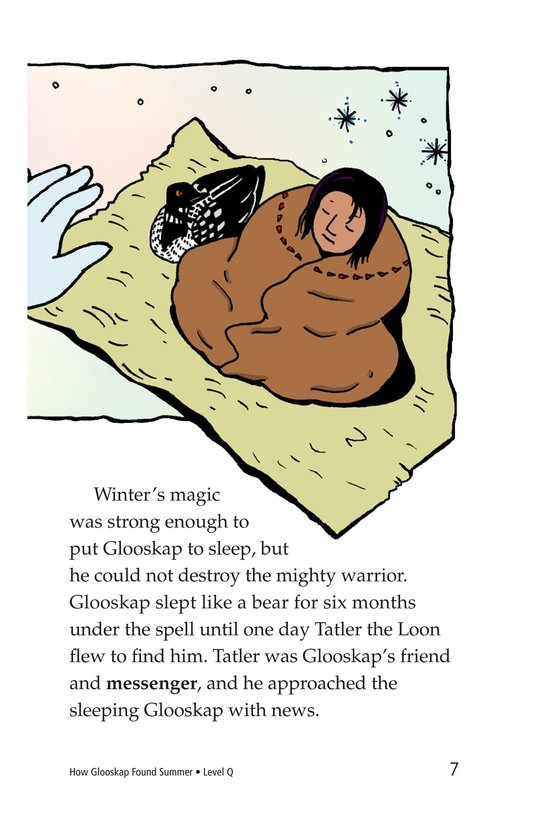 Book Preview For How Glooskap Found Summer Page 7
