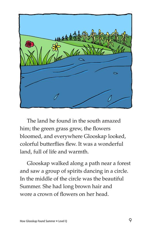 Book Preview For How Glooskap Found Summer Page 9