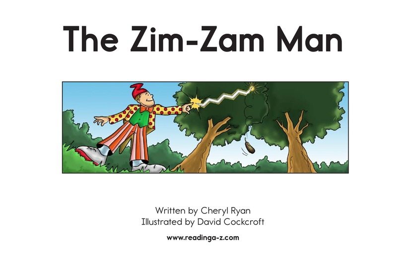 Book Preview For The Zim-Zam Man Page 2