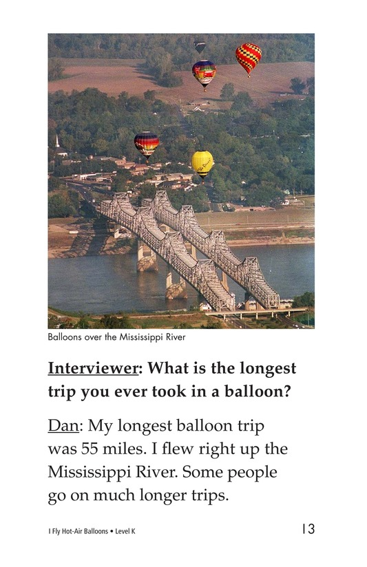 Book Preview For I Fly Hot-Air Balloons Page 13