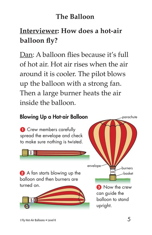 Book Preview For I Fly Hot-Air Balloons Page 5