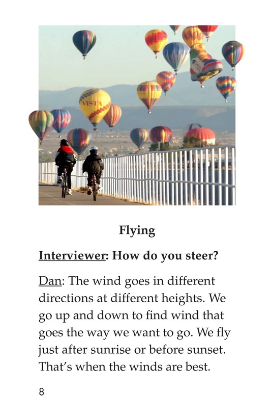 Book Preview For I Fly Hot-Air Balloons Page 8