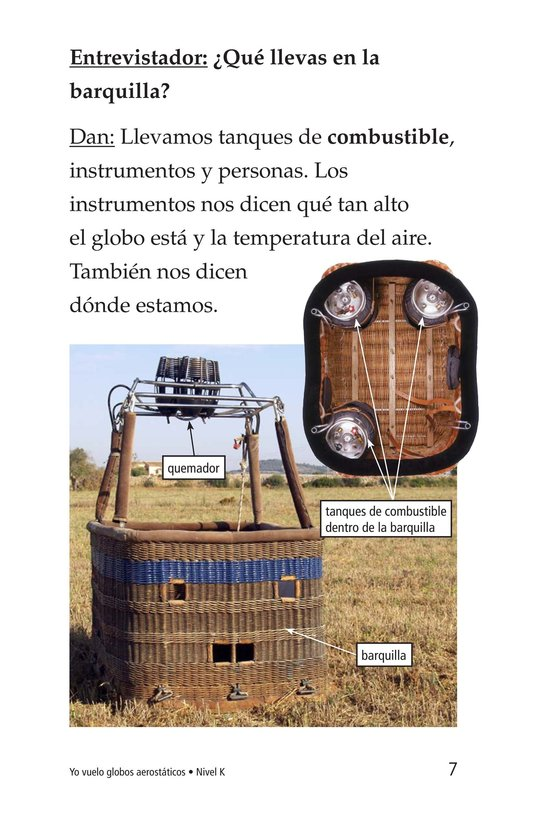 Book Preview For I Fly Hot-Air Balloons Page 7