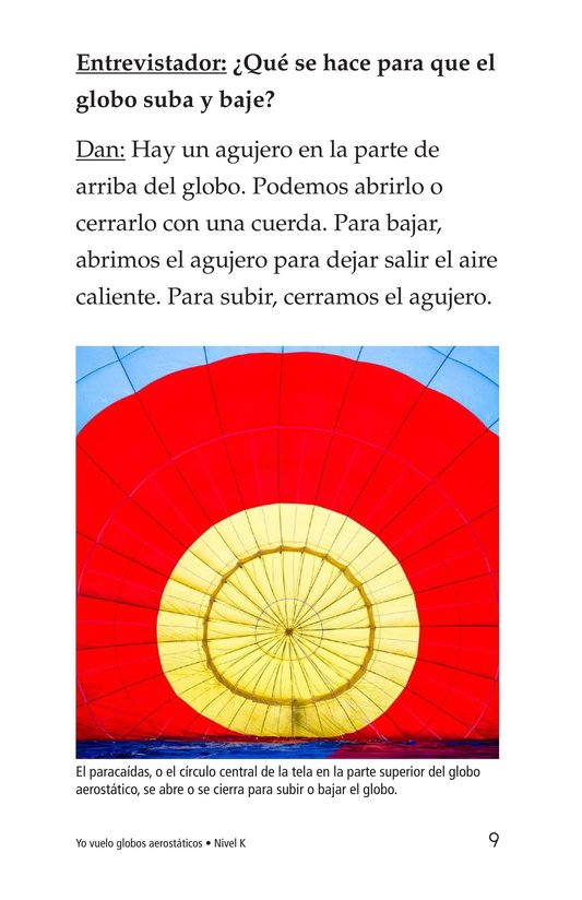 Book Preview For I Fly Hot-Air Balloons Page 9
