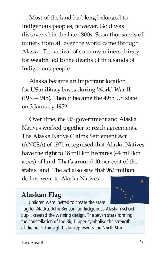 Book Preview For Alaska: The Last Frontier Page 9