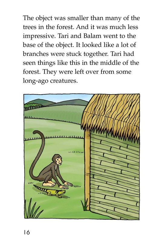 Book Preview For Spider Monkey's Question Page 16