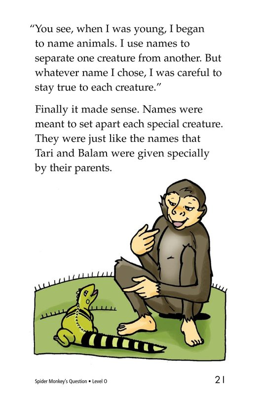 Book Preview For Spider Monkey's Question Page 21