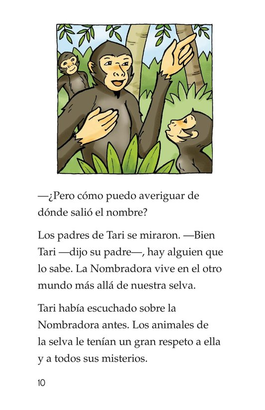 Book Preview For Spider Monkey's Question Page 10