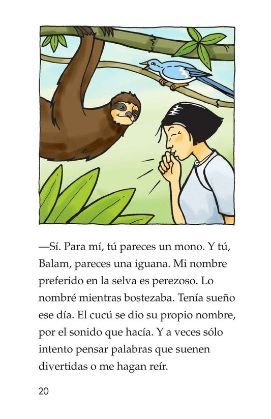 Book Preview For Spider Monkey's Question Page 20