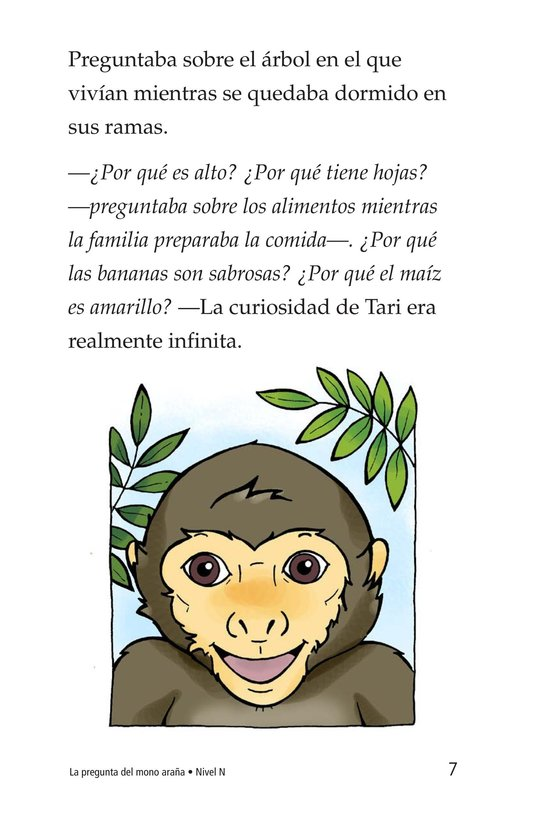 Book Preview For Spider Monkey's Question Page 7