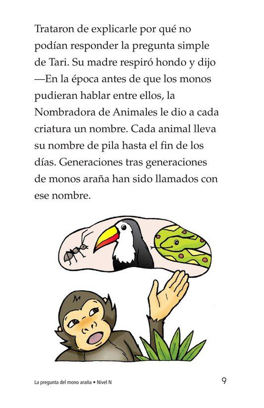 Book Preview For Spider Monkey's Question Page 9