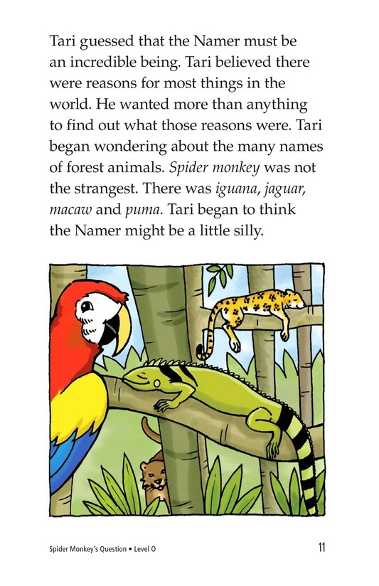 Book Preview For Spider Monkey's Question Page 11
