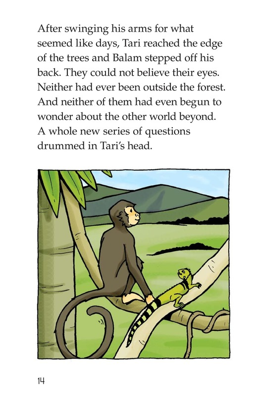 Book Preview For Spider Monkey's Question Page 14