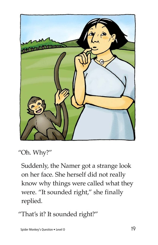 Book Preview For Spider Monkey's Question Page 19